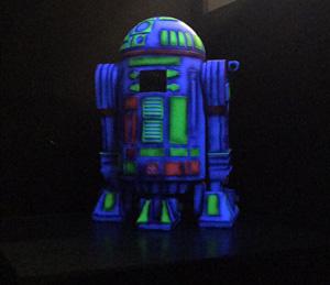Laser Game Marche - Robot